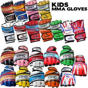 Kids / Junior Grappling MMA Gloves Boxing Punch Bag Fight Muay Thai Training