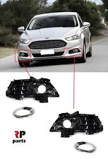 FOR FORD FUSION 13-17, MONDEO 15-17 NEW FRONT BUMPER FOG LIGHT GRILL PAIR SET