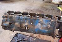 1968 1969 Ford Mustang 200 CI Engine Block & Caps Std Bore C8DE-8015-B Date 9K20