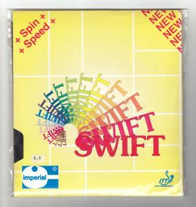 Tischtennisbelag IMPERIAL Swift 2,5 mm schwarz