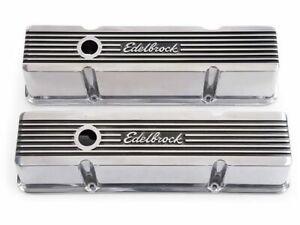 For 1959-1975 Chevrolet Bel Air Engine Valve Cover Set Edelbrock 55915BT 1960