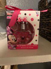 Disney Junior MINNIE MOUSE Perfume Natural Spray .67 Oz Gift Box Party Favor