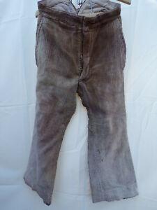 Pantalon velours maquignon travail ancien vintage work pant trousers bourgeron