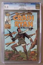 CRASH RYAN #1 First appearance 1984 Ron Harris Epic Marvel MOVIE CGC NM/MT 9.8