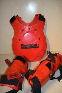 ^^REDMAN MACHO MMA SPARRING SELF DEFENSE FIGHTING-BODY GUARD-ARM/LEG SMALL (#11)