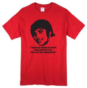 George Best Man's T-shirt - UTD United Football Legend - Unofficial Fan Shirt