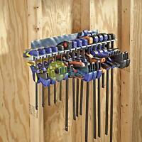 Galvanised Steel Quick-Release Clamp Rack