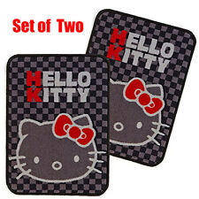 SANRIO HELLO KITTY Car Accessory Front Floor Mat Set of 2 Sheets Japan F/S