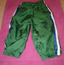 Dark Green Nike Toddler nylon warmup pants sz 3T Great Condition Very Clean!