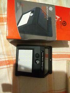 New Solar Security Light Super Bright PIR Motion Sensor Wall Security Floodlight