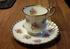 2 sets Tea Cups & Saucers England Royal Grafton & Elizabethan fine bone china