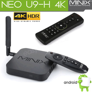 MINIX NEO U9-H TV Box HDR Player Octa-core Android 6.0 /A3 Air Mouse Voice Input