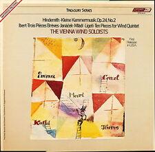 VIENNA WIND SOLOISTS HINDEMTH IBERT JANACEK LIGETI LON STS 15419 LP