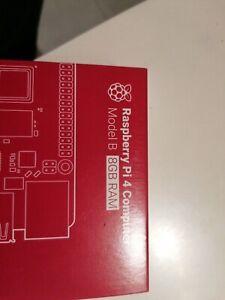 !New Sealed - Raspberry Pi 4 Model B 8GB RAM - First Class SIGNED