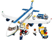 Sluban M38-B0366 Air Series bricks Air bus compatible Building Blocks 483 pcs