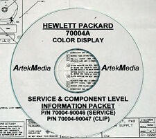 HP 70004A Service Guide & CLIP (Schematics) 2 Volumes