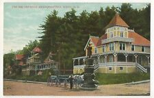 Encampment Headquarters, WIERS NH, Vintage New Hampshire Postcard