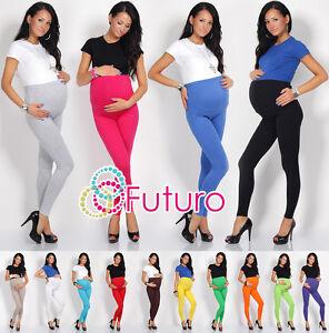 Maternity Leggings Over Bump Full Ankle Length Pregnancy PREG-FULL