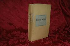 Libro Le Commedie di Terenzio 1876 Recate in Volgare da Temistocle Gradi