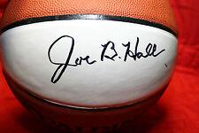 JOE B HALL AUTOGRAPHED AUTO SIGNED SPALDING BASKETBALL UK KENTUCKY COACH TOP