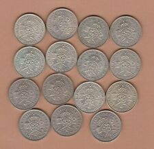 More details for 15 george vi 1937 to 1951 date run of florins in very fine or better condition