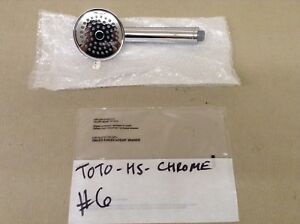 TOTO TRADITIONAL HANDSHOWER ONLY, POLISHED CHROME, #6