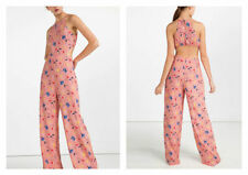 Zara Polyester Floral Jumpsuits & Playsuits for Women