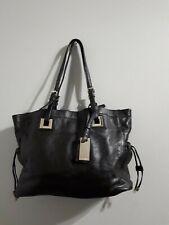 Calvin Klein L- Brooke Tumbled Pebble Tote black  shouder bag  mother