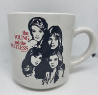 The Young & the Restless Coffee Mug / TV Promo / Soap Opera RARE 1980 Vintage