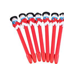 Santa Claus Ball-point Pen Polymer Clay Pen Kids' Christmas Gift Random Color