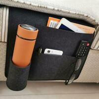 Nachttisch Storage Organizer Filz Bett Tasche Insert Bag Hängenden Tasche Grau