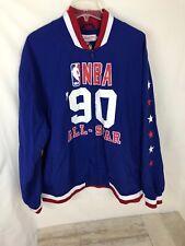 NWT Mitchell & Ness 1990 Miami All Star Week Blue Warmup Jacket Men's Size 3XL