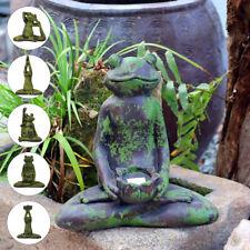 Micro-landscape Frog Figurines Miniatures Garden Terrariums Bonsai Hom AU1