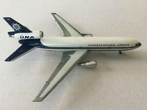 GeminiJets  Overseas National  DC10-30 N1033F GSONA005 1:400 Scale Diecast Model
