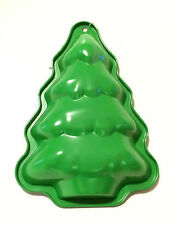 "Holiday Christmas Tree Baking Mold Form Pan - Non Stick -10.5"" x 7.5"" - New"
