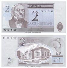 Estonia 2 Krooni 2006 P-85a Banknotes UNC
