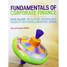 Fundamentals of Corporate Finance-David Hillier