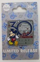 Disney Hollywood Studios 30th Anniversary Limited Release Pin Logo Mickey Mouse
