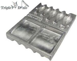 New Seahorse Small Snapper Sinker Mould Combo - Assorted Snapper Sinker Mould