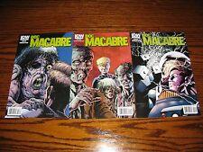 IDW - DOC MACABRE 1 - 3 Complete Mini-Series Set!!  2010  VF+