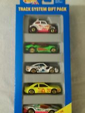 1994 Hot Wheels Track System Gift Pack 5 cars in package New