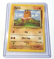 DiGLETT - Base Set - 47/102 - Common - Pokemon Card - Unlimited Edition - NM