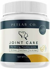 Pet Lab Joint Health Care Soft Chews for Dogs Arthritis Dog Hip Vitamins PetLab