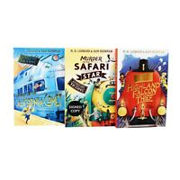 Adventures on Trains 3 Books Young Adult Collection Paperback Set By Sam Sedgman