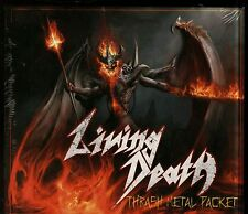 Living Death Thrash Metal Packet 3 CD new Protected From Reality Worlds Neuroses