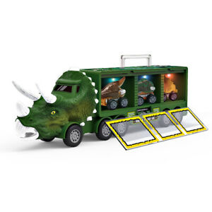 Children's Dinosaur Storage Car Model With Light And Music Container Storage