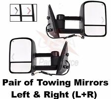 03-07 Silverado GMC Sierra Pickup Towing Mirrors Set Power Heated LED Signals