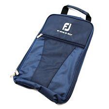 New FootJoy Genuine Golf Shoes Bag Zipped Sports Bag Shoe Case Sack Pocket Navy