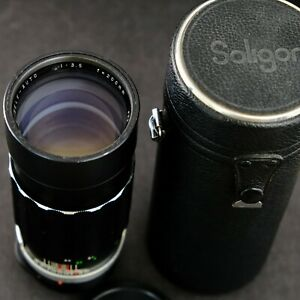 SOLIGOR TELE-AUTO 200mm f3.5 - M42 mount lens made in Japan
