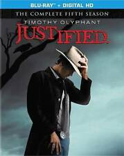 NEW Justified: The Complete Fifth (5th) Season (Blu-ray 3-Disc Set, 2014)